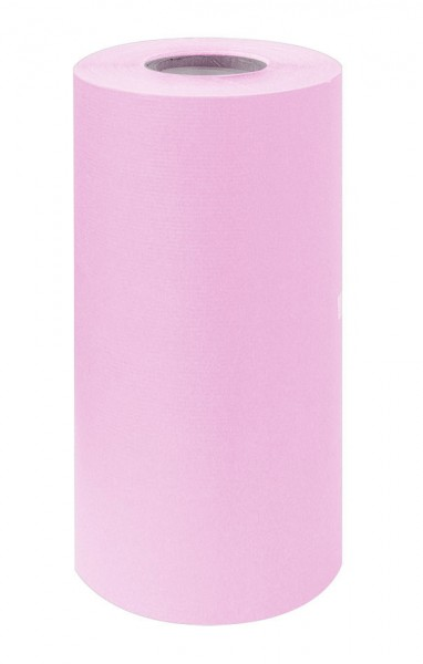 Manschettenpapier 25cm/200m weiß/rosa 38g