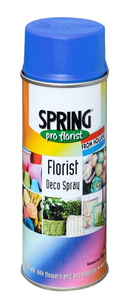 Spring Decospray 400ml Larkspur Blue