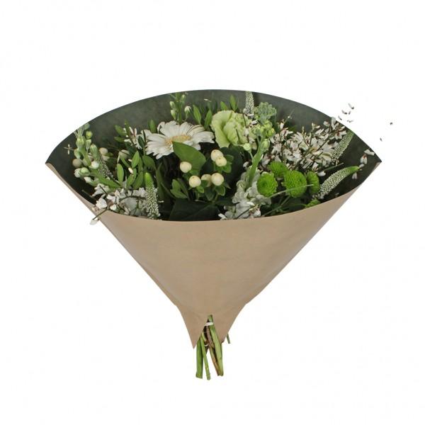 Blumentüten 35/35 Angelo braun kraft-dunkelgrün 70g (25 Stück)