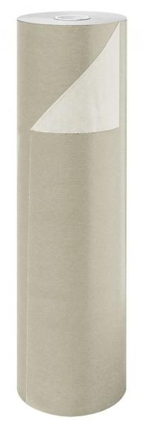 Blumenpapier Rolle 60cm 50g Braun Kraft creme 12kg
