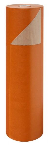 Blumenpapier Rolle 60cm 50g Braun Kraft exotisch orange 12kg