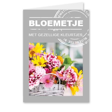 Grußkarten Bloemetje (25 Stück)