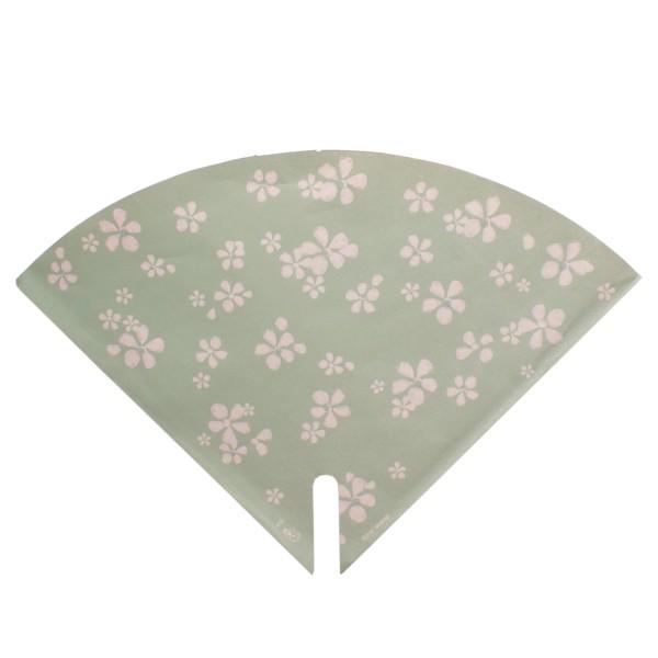 Blumentüten 35/35 Floral Stamp grün (25 Stück)