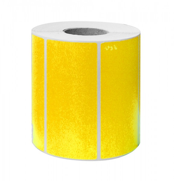 Etikett 100x50 fluor orange 1000 Stück