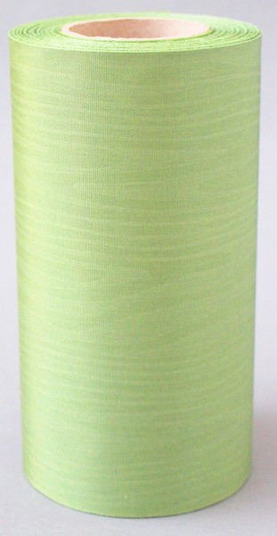 Kranzband Moire 125mm 25m apfelgrün