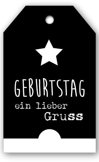 Grußkarten Geburtstag Ein lieber Gruß (12 Stück)