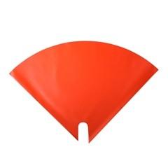 Blumentüten 30/30 Angelo Pearl orange (50 Stück)