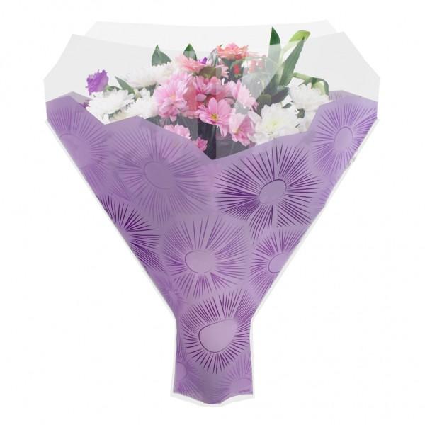 Blumentüten 52/44/12 Cleome lila (50 Stück)