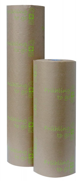"Blumenpapier 50cm 35g ""Frühling to Go"" grün (7kg)"