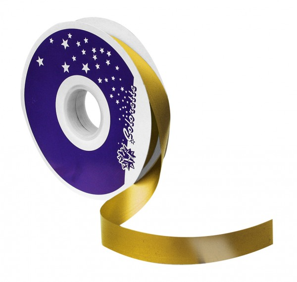 Kräuselband 19mmx100yards 06 gold