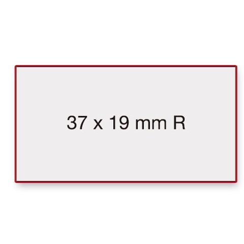 Etiketten Contact 37x19mm weiß G2 Permanent 1000 Stück