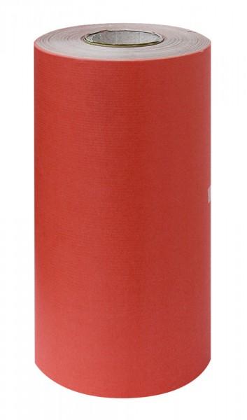 Manschettenpapier 25cm/200m braun/cranberry 38g
