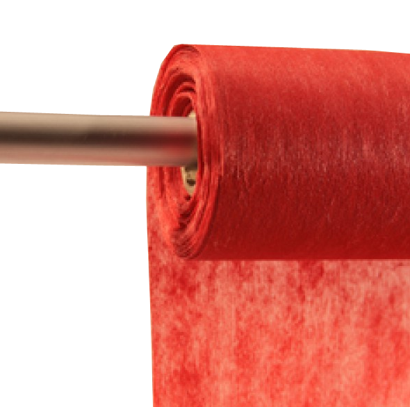 Decofleece 60cm/25m dunkelrot PMS485
