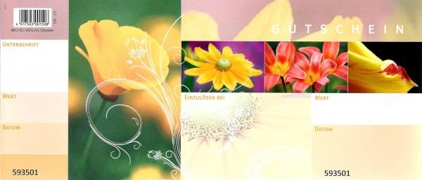 Gutscheine Blumenwiese gelb (50 Stück)