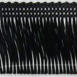 Klebefadenfransen 40mm 25m schwarz