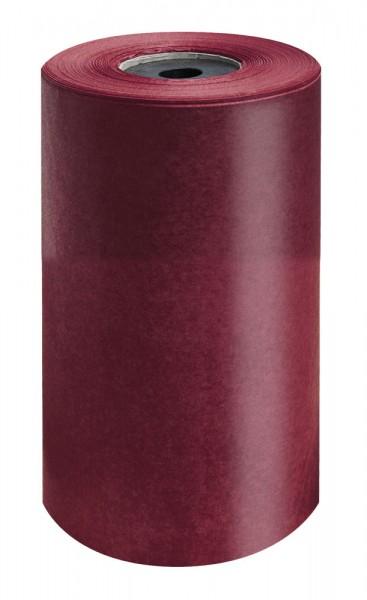 Brillant-Perlschutz Manschettenpapier 25cm/200m bordeaux