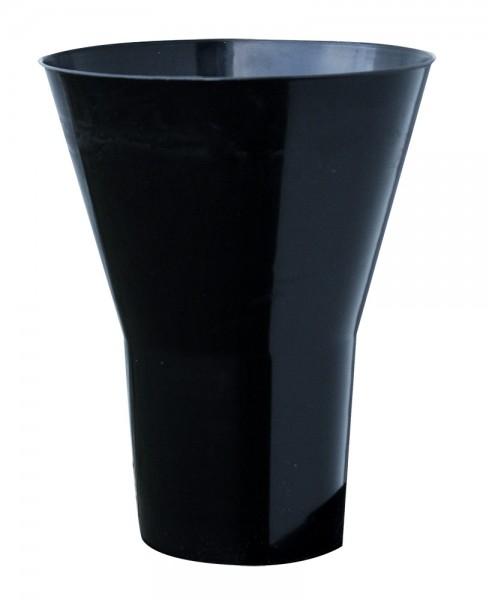 Floristenvase Y 35cm schwarz