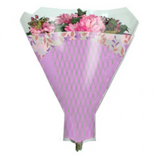 Blumentüten 52/44/12 Friendly lila (50 Stück)