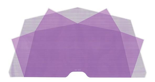 Nuvella 48x98 lila 100 Stück