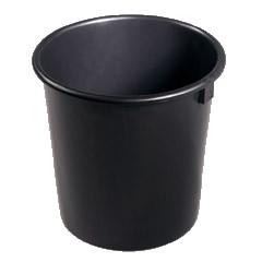 Eimer Konika 3 Liter schwarz 18,5x18,5x15 50 Stück
