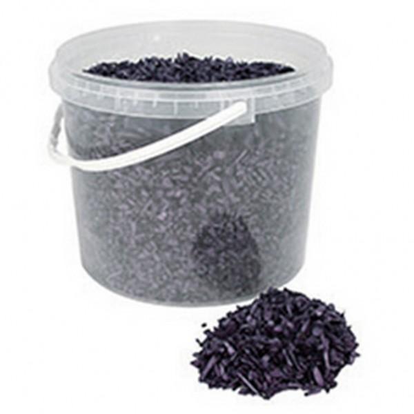 Deko Holzchips schwarz (10 Liter)