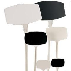 Preisschilder 35cm weiß/schwarz schräg (10 Stück)