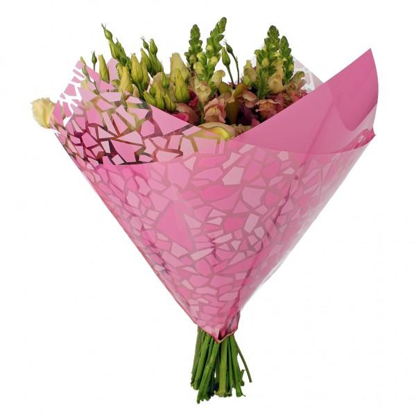 Blumentüten 35/35 Oblique Mosaic pink (25 Stück)