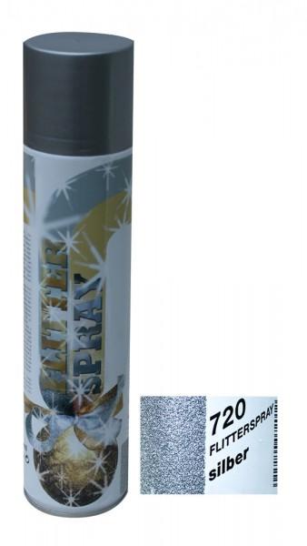 Sprühfarbe UC 7201 Flitter Effekt silber 400ml