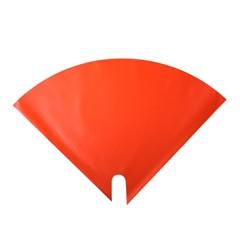Blumentüten 35/35 Angelo Pearl orange 50 Stück