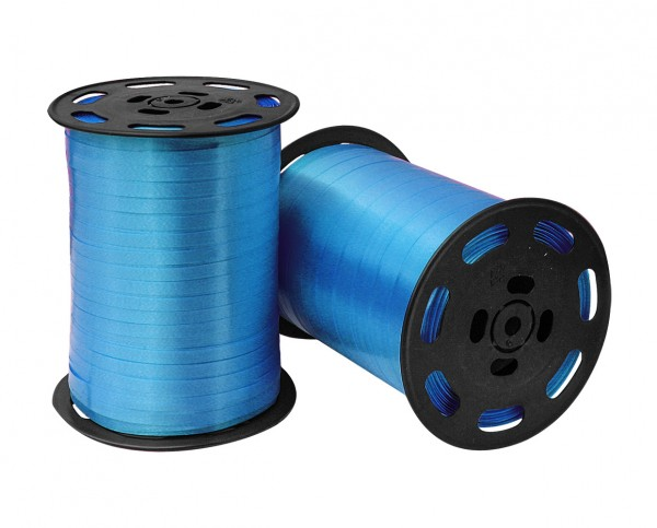 Kräuselband 10mmx250m 01 blau