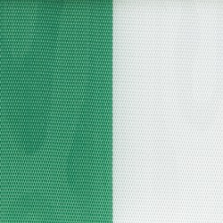 Nationalband 200mm 25m grün/weiß