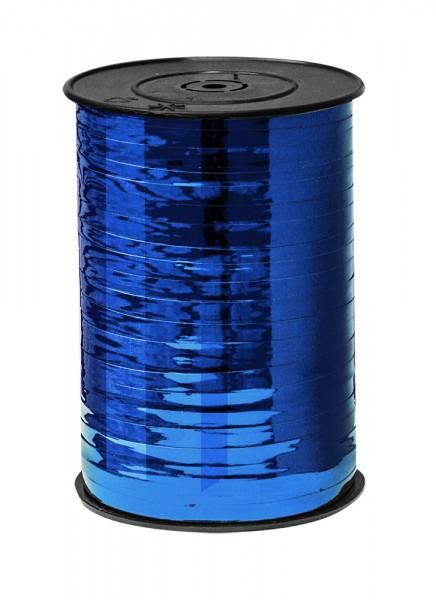 Kräuselband 4,8mmx455m blau metallic