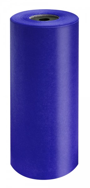 Brillant-Perlschutz Manschettenpapier 35cm/200m royalblau