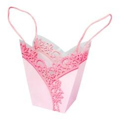 Tasche Shape Lace rosa (20 Stück)