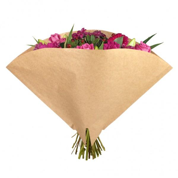 Blumentüten 40/40 Angelo braun kraft 45g natur (50Stück)