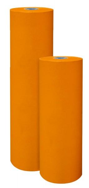 Blumenpapier 50cm 32g Premium 2-seitig Mandarin