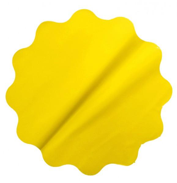 Rondella 40cm Mat Pearly gelb 50 Stück