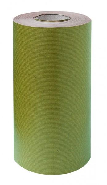 Manschettenpapier 25cm/200m braun/moos 38g