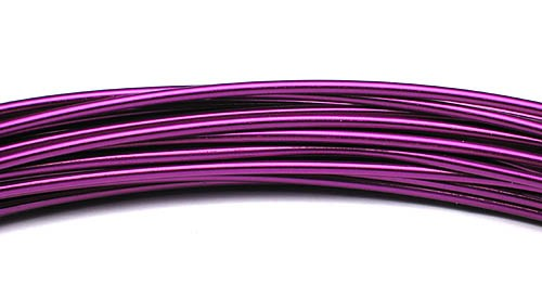 Aluminiumdraht 2,0mm violett 100g/12m