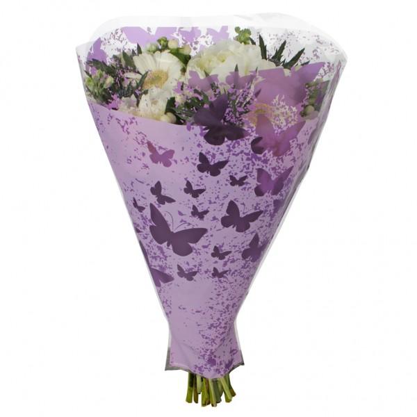 Blumentüten 52/44/12 Monarch lila (50 Stück)