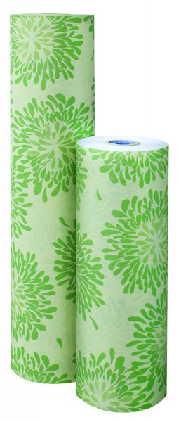"Blumenpapier 50cm 32g ""Marguerite"" grün (7kg)"