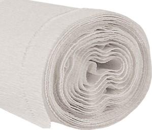 Krepppapier 160g 50x250cm weiß 5 Stück
