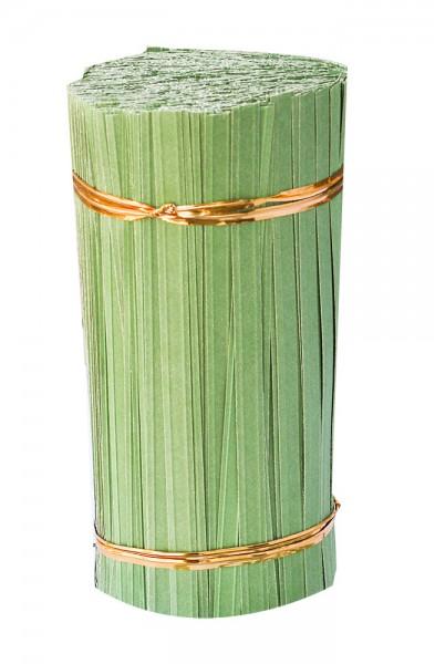 Bindestreifen 2-Draht grün 30cm (1000 Stück)
