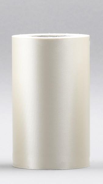 Kranzband Supersatin 75mm 25m natur