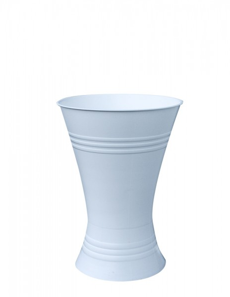 Floristenvase X-Form 45cm weiß