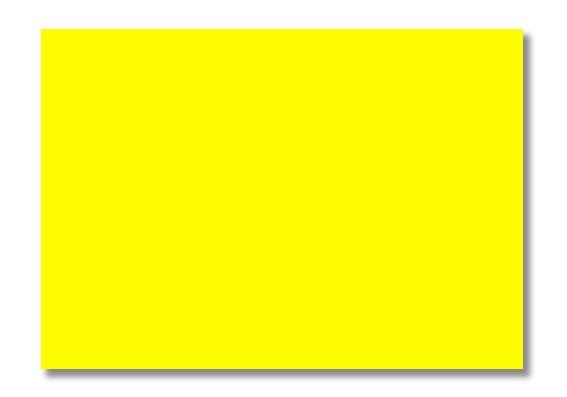 Plakatkarton 48x68cm gelb 10 Bögen