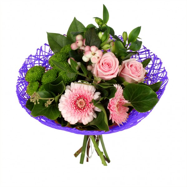 Bouquethalter Twist Ø20cm lila (300 Stück)