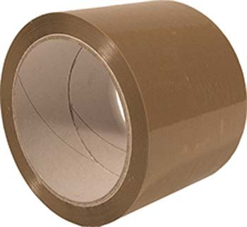 Klebeband PP 50mm 66m G-Label braun (6 Stück)