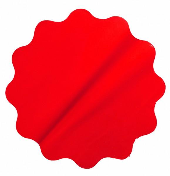 Rondella 50cm Mat Pearly rot 50 Stück