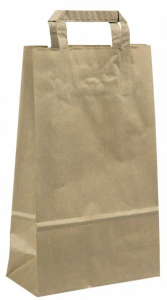 Tragetasche Papier Natur (250 Stück)